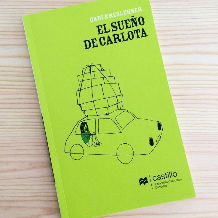 """""""Carlota tiene que abandonar la casa donde vivió desde niña"""" Portada de la primera novela de Gabi Kreslehner para la edición mexicana de Castillo"""