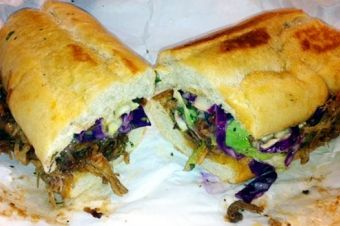 BBQ Pulled Pork Sub at Toastie's Subs http://goo.gl/Xbe9ng