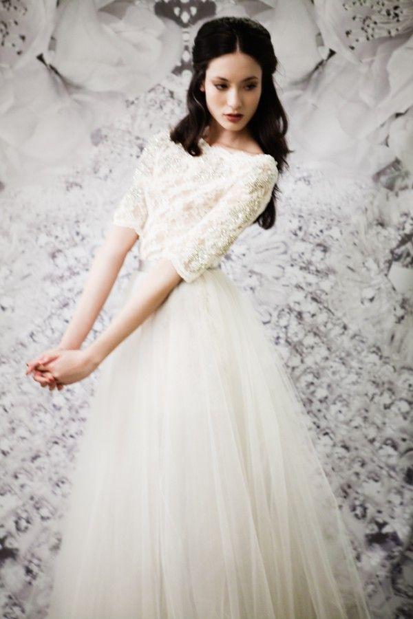 Morphologie et robe de mariée : les conseils de l'experte !