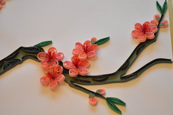 Photo blog new quilled paper work hd wallpapers for Paper quilling work