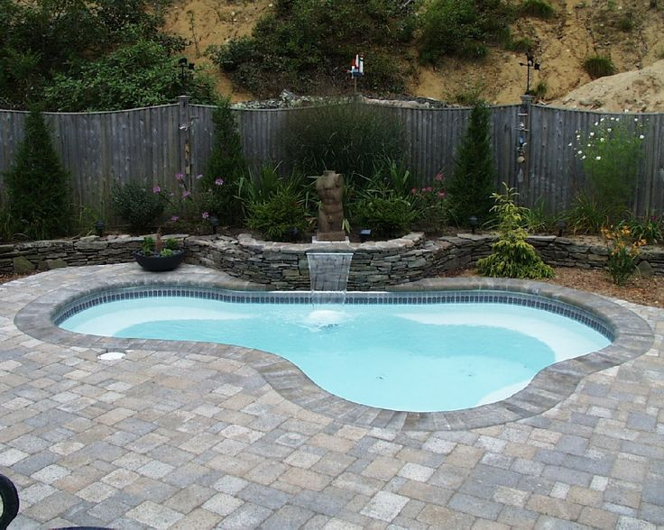 104 Best Images About Backyard Dipping On Pinterest Small Yards Swim And Fiberglass Inground