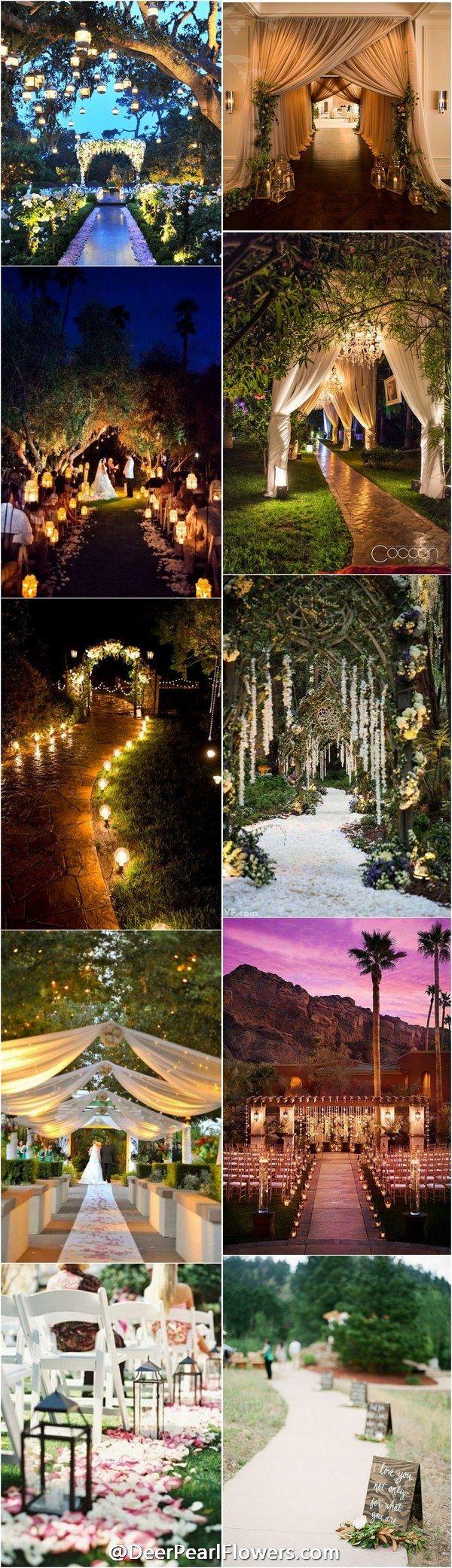 Wedding Entrance Walkway Decor Ideas / http://www.deerpearlflowers.com/wedding-entrance-walkway-decor-ideas/