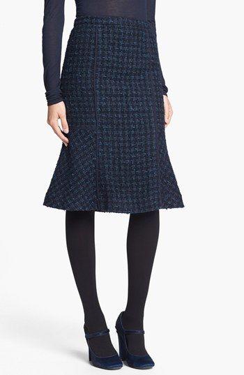 Tory Burch 'Sloane' Tweed Skirt | Nordstrom - Fall shapes