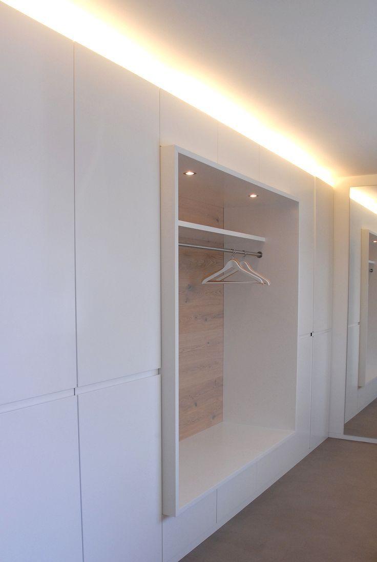 bildergebnis f r einbauschrank mit offener garderobe interieur pinterest hall interiors. Black Bedroom Furniture Sets. Home Design Ideas