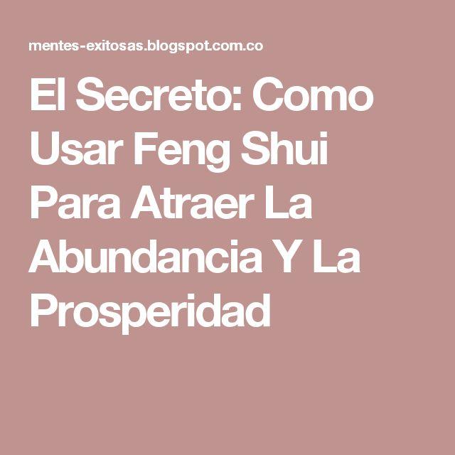 Mejores 78 im genes de feng shui en pinterest feng shui - Como atraer el dinero feng shui ...