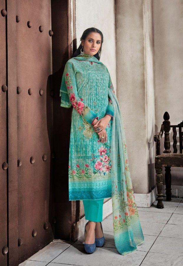 e6119c9f85 Hansa Husna Ara Vol-13 Designer Collection (8 Pc se) | Designer Suit ...