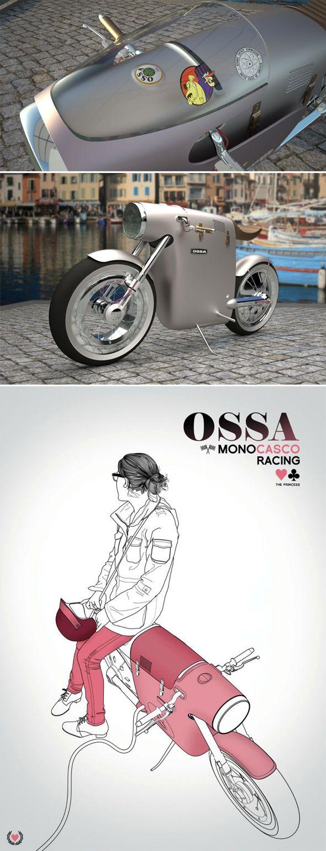 Concept de moto électrique par Art-Tic