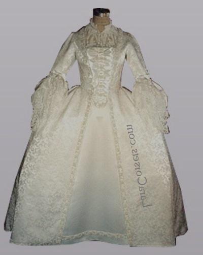 62 best historical wedding dresses images on pinterest for 18th century wedding dress
