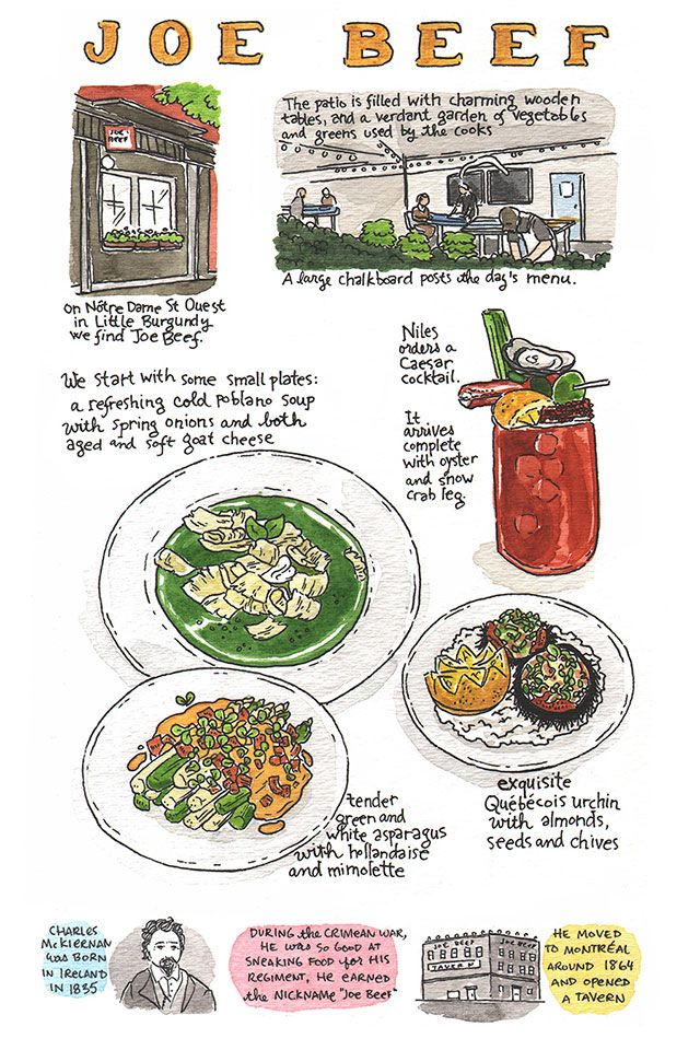 Eating Well in Montreal | SAVEUR