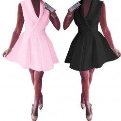 Zobacz rozkloszowaną sukienkę z ozdobną koronką, za jedyne 39,99 w sklepie internetowym Magmac.pl
