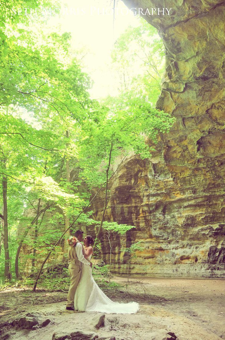 Hiking Nature Portrait Starved Rock Lodge Wedding Reception Photographer Utica Illinois Chicagoland Seth Morris Photography
