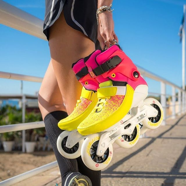 Powerslide Fitness Inline Skates Will Get You In Shape With The Best Workout On Triskates Powerslide Swell Multic Roller Shoes Inline Skate Inline Skating