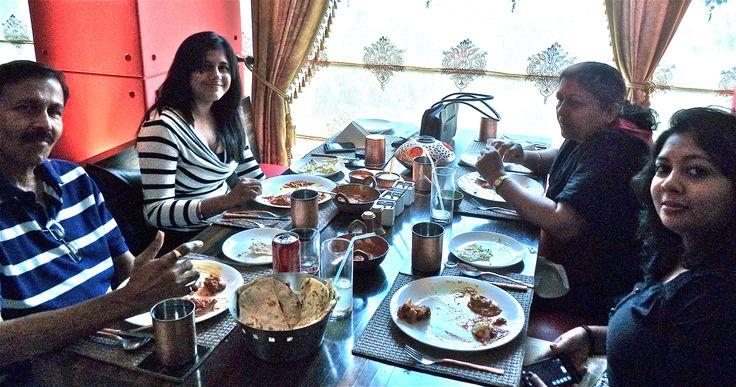 Bandekar family at The Golconda Bowl hill road Mumbai