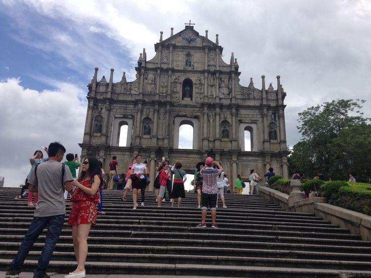 Tàn tích Nhà thờ Thánh Paul - Macau
