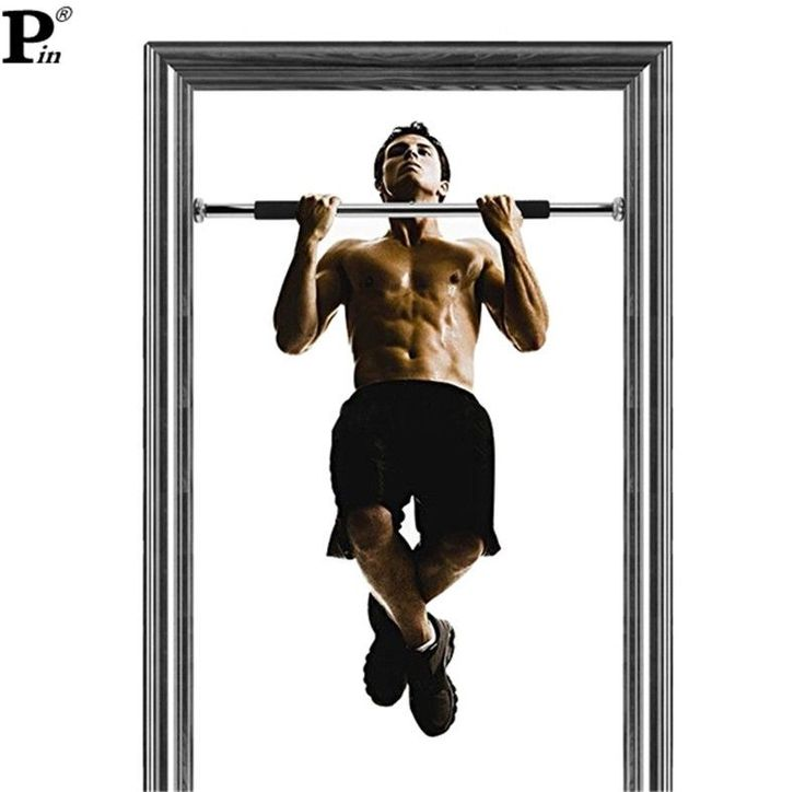 Horizontal Bar Indoor Gym Fitness Home Door Exercise Training Equipment Workout Adjule Pull Up Chin