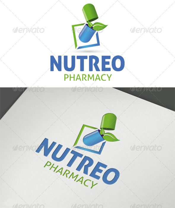 Nutreo Pharmacy Logo  #GraphicRiver         Nutreo Pharmacy Vector Logo, all parts are vector format which makes them easy to edit, adjust and scale to any and all sized projects. Customizable 100% CMYK AI – EPS Free font used:  .fontsquirrel /fonts/Aller/     Created: 25July12 GraphicsFilesIncluded: VectorEPS #AIIllustrator Layered: Yes MinimumAdobeCSVersion: CS5 Resolution: Resizable Tags: blue #green #leaf #logo #medicine #nutreo #pharmacy #pill #vector