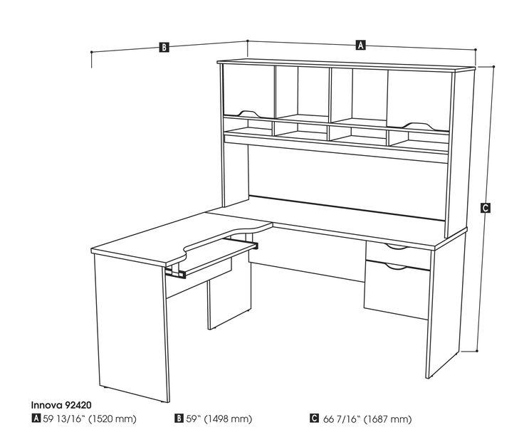 L Shaped Office Desk Dimensions - Elegant Living Room Furniture Sets Check more at http://www.gameintown.com/l-shaped-office-desk-dimensions/