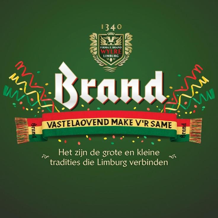Brand Bier advertentie Carnaval #vastelaovend #wijlre #limburg
