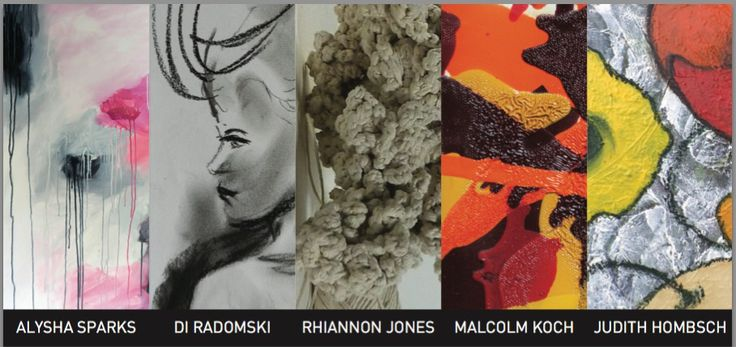 SALA - at the Ark for the first time - we have called our exhibition Diversity - with 5 great artists on show!!  Alysha Sparks - Di Radomski - Rhiannon Jones - Malcolm Koch - Judith Hombsch.  We are open from 7am till late every day.