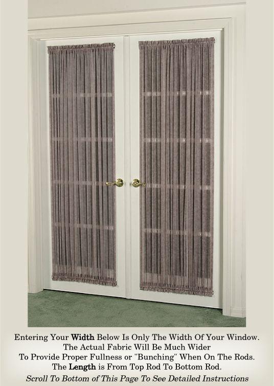 top 25 best sidelight curtains ideas on pinterest front door curtains door window covering. Black Bedroom Furniture Sets. Home Design Ideas
