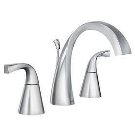 Moen Oxby Chrome 2-Handle Widespread Bathroom Faucet Ws84661