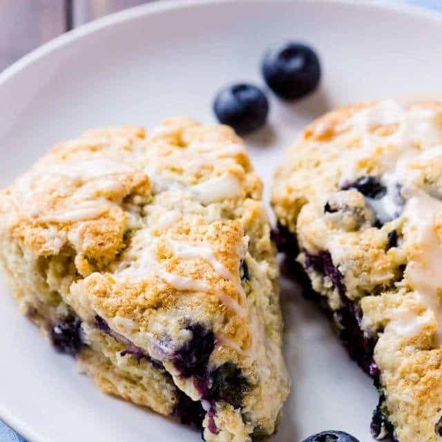 Blueberry Buttermilk Scones Recipe Yummly Recipe Blueberry Scones Buttermilk Scone Recipe Scone Recipe