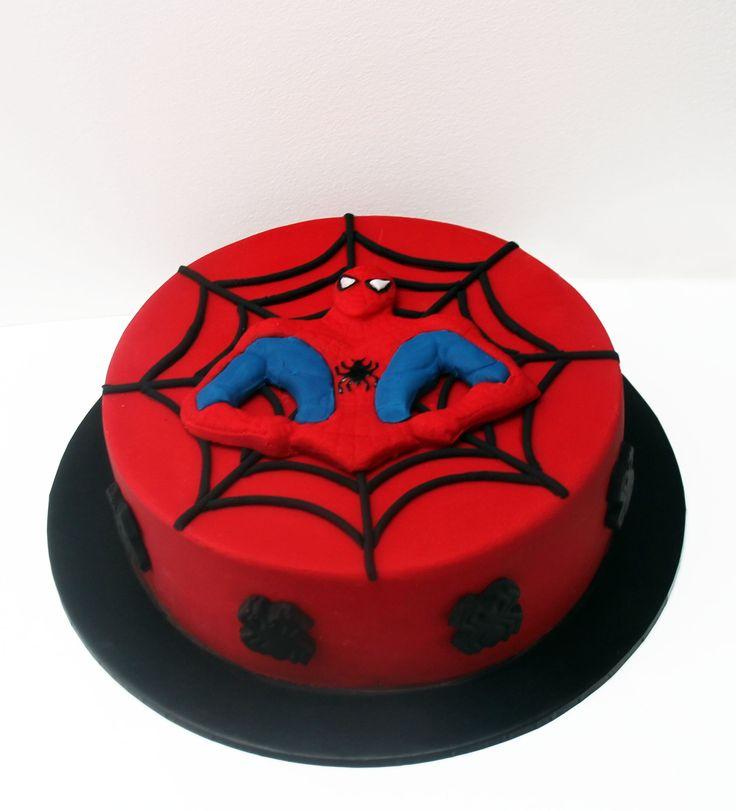 Spiderman Cake Like us at www.facebook.com/melianndesigns