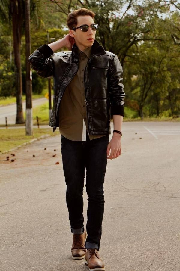 098a9994fbd09e Brown Boots Outfit for Men-30 Ways to wear Brown Boots | Fashion ...