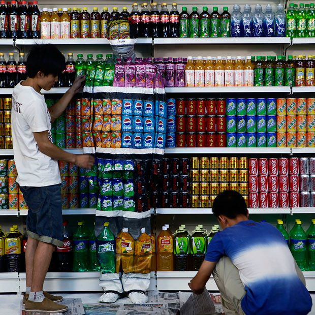 Liu Bolin's | The invisible man: Liu Bolin's amazing camouflage artwork - Telegraph