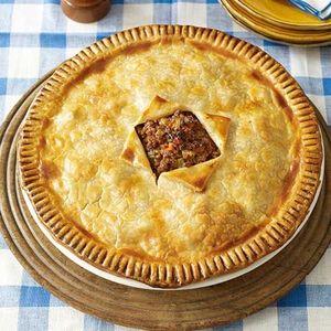 Easy Recipes for Ground Beef   Hamburger Pie   AllYou.com
