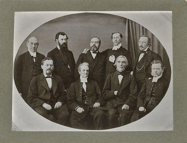 Lönnrot & Topelius in psalm committee