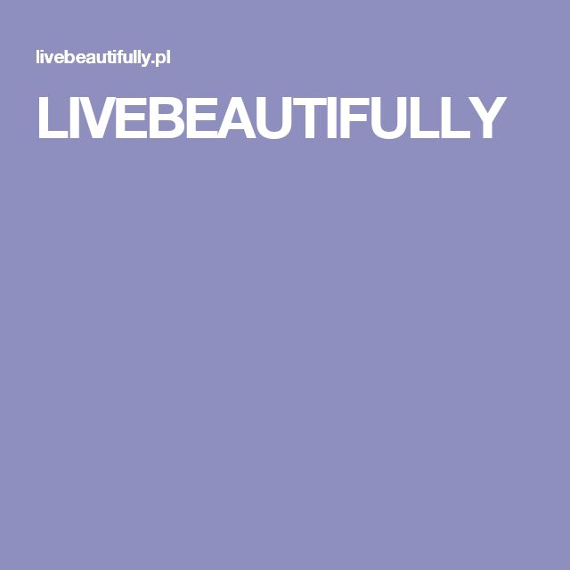 LIVEBEAUTIFULLY