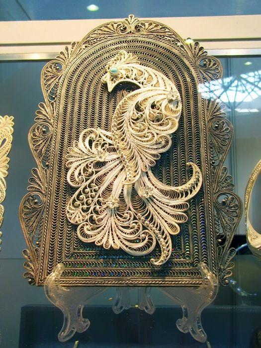 Филигрань (скань) - своеобразный вид художественной обработки металла - Воротила