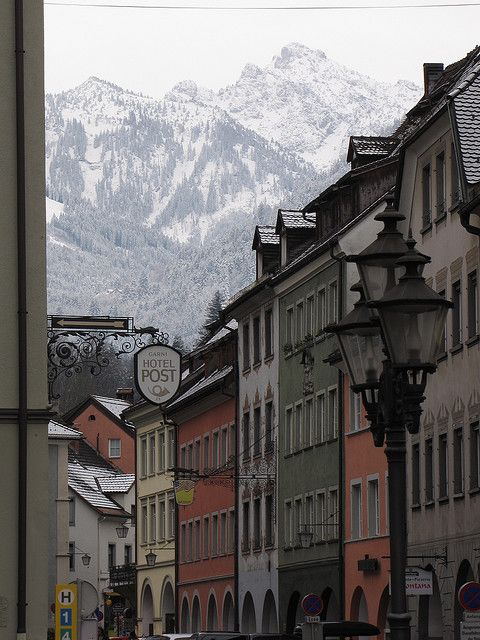 Feldkirch, Austria, with Vorarlberg Alps by Chris Norden, via Flickr