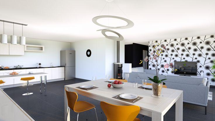 les 25 meilleures id es de la cat gorie prix maison ossature bois sur pinterest lodge moderne. Black Bedroom Furniture Sets. Home Design Ideas