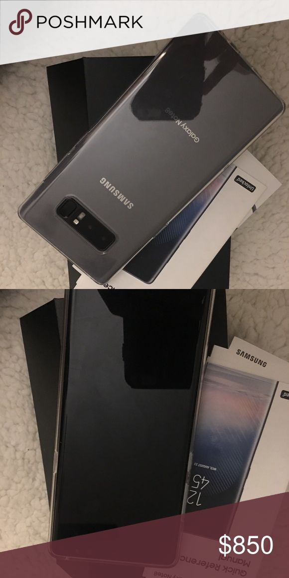 Samsun Galaxy note 8 Selling my new unlocked Samsung galaxy note 8 with a case and everything that is included in the box! Please let me know if you're interested. Other
