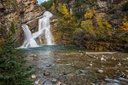 """""""Cameron Falls"""" at Waterton Lakes National Park in Alberta"""