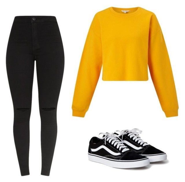 """""""Outfit"""" by vicky-skoufh on Polyvore featuring Miss Selfridge and vans"""