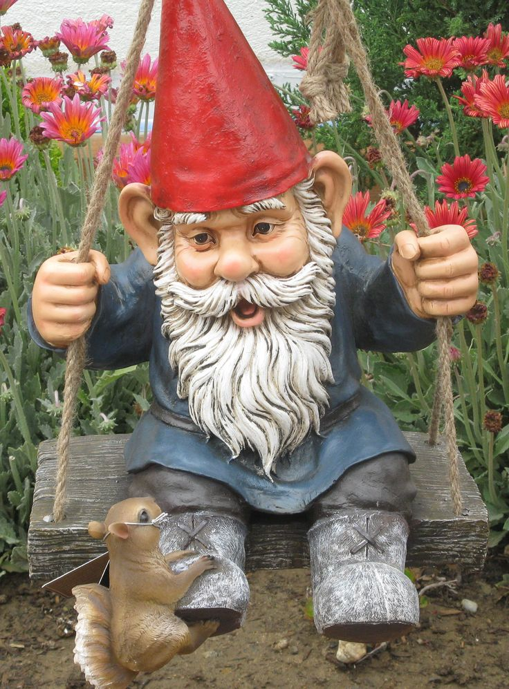 Gnome Garden: 25+ Best Ideas About Garden Gnomes On Pinterest