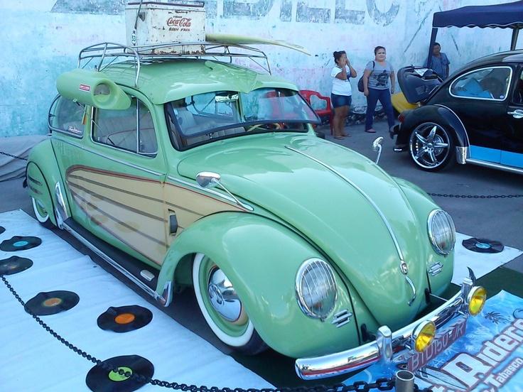 VW Beetle Air Cool Roof Rack Slammed