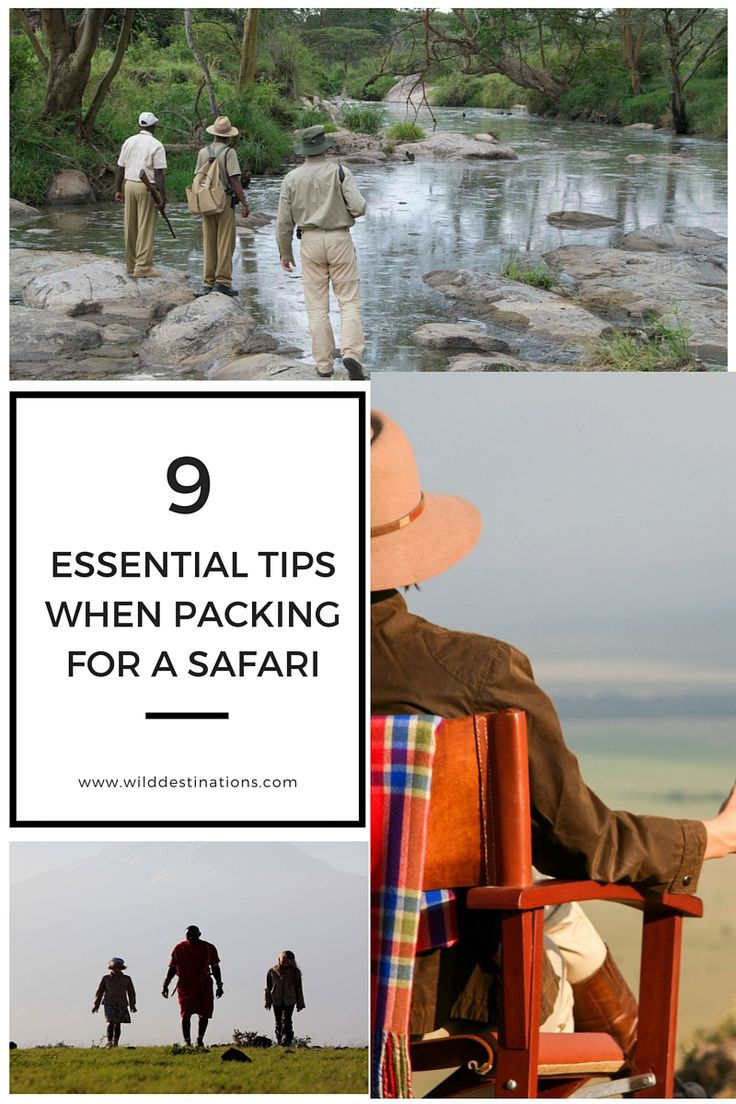 Don't miss these 9 Essential Tips When Packing For Your Safari