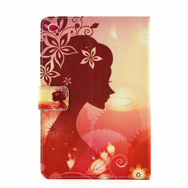 Folding Fairy Luxury Bling Diamond Printed Leather Case Cover Folio Stand Protec…