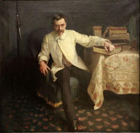 John Singer Sargent, Arsène Vigeant, 1885 on ArtStack #john-singer-sargent #art