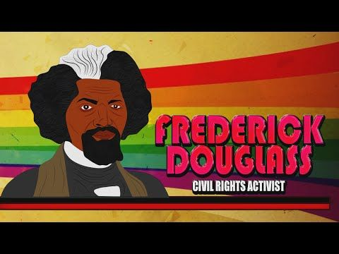Frederick Douglass for Kids(Cartoon Biography) Educational Videos for Students (Black History Month) - YouTube                                                                                                                                                                                 More