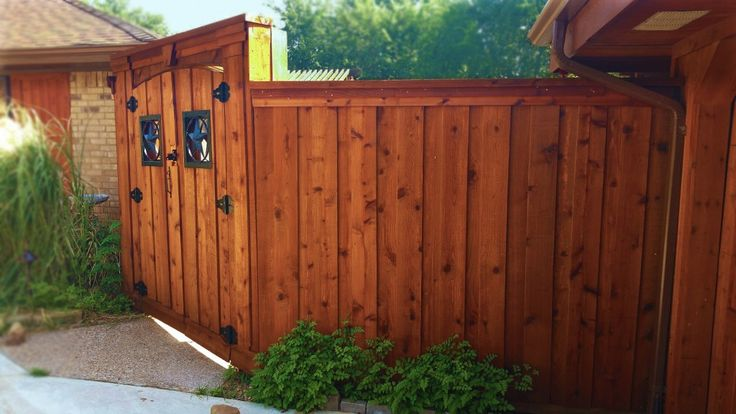 7 best Wood Fences images on Pinterest Fence ideas, Wood fences - Windows Fences