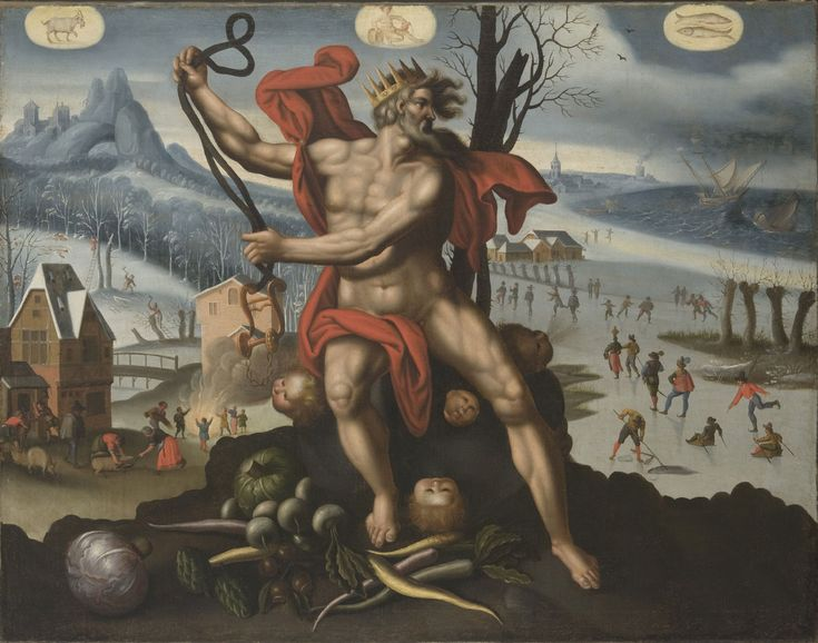 Artist/maker unknown, Flemish. After an engraving by Adriaen Collaert, Flemish, c. 1560 - 1618. After a design by Maarten de Vos, Flemish, 1532 - 1603 - Winter (Companion to Summer, Autumn, and Spring), c. 1575-1625. Philadelphia Museum of Art