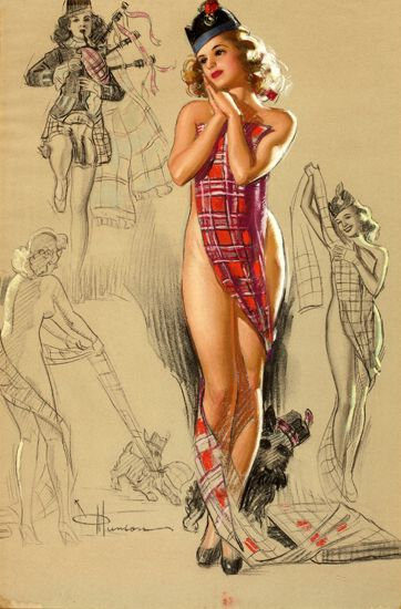 Pin Up Girls Vintage © Knute Munson