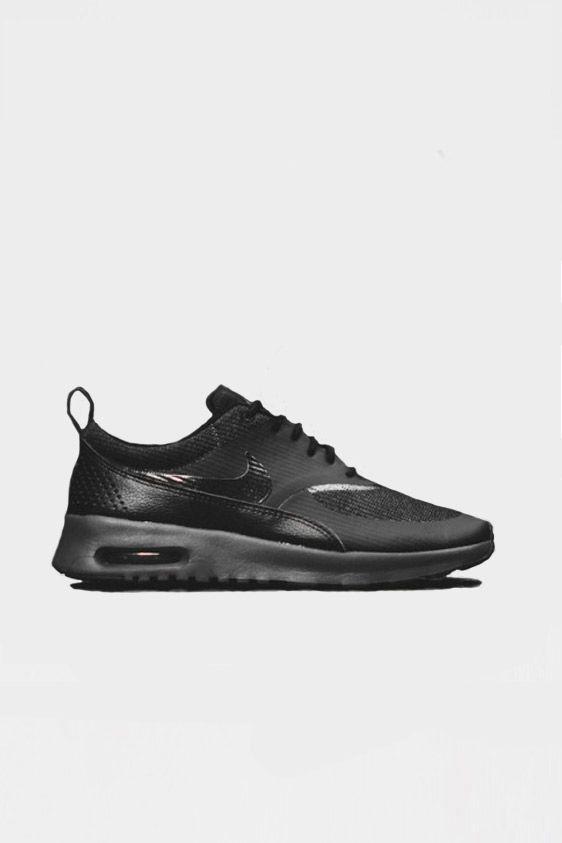 Nike Air Max Thea Premium Black Anthracite | 139,95 www.altamoda.nl