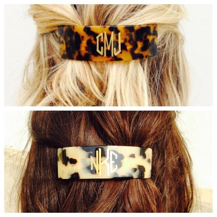 The viral sensation is back and ready for Spring! These tortoise hair barrettes have been one of our most favorite thing, and we are now accepting orders again We love the classic look- betw...