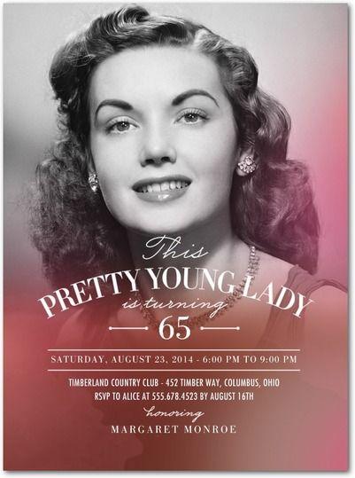 61 best 75th Birthday Invitations images – Tiny Prints Birthday Party Invitation